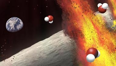 <p>Antiguos depósitos lunares sugieren que el magma lunar contenía una gran cantidad de agua. / Olga Prilipko Huber</p>