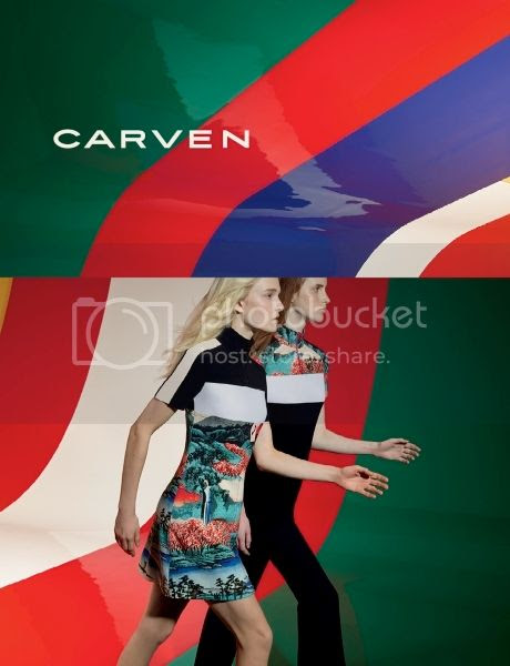 Carven SS15 campaign