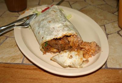 El Moctezuma #3 - Tinga Burrito