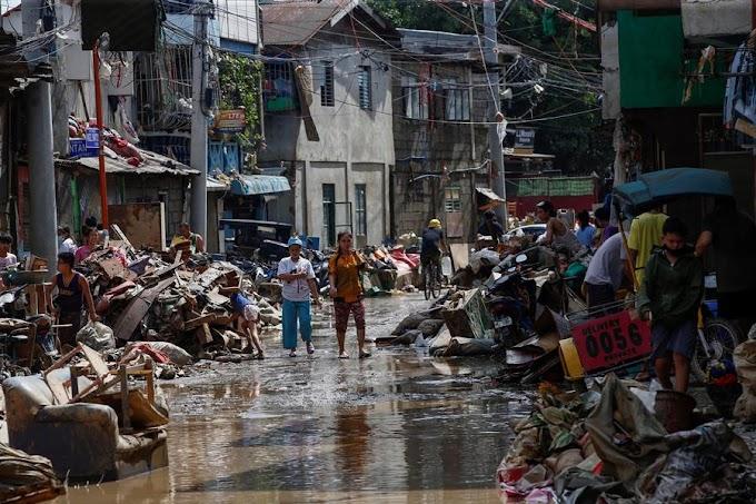 EL TIFÓN CAUSA 39 MUERTOS EN FILIPINAS Y GRAVES INUNDACIONES EN MANILA