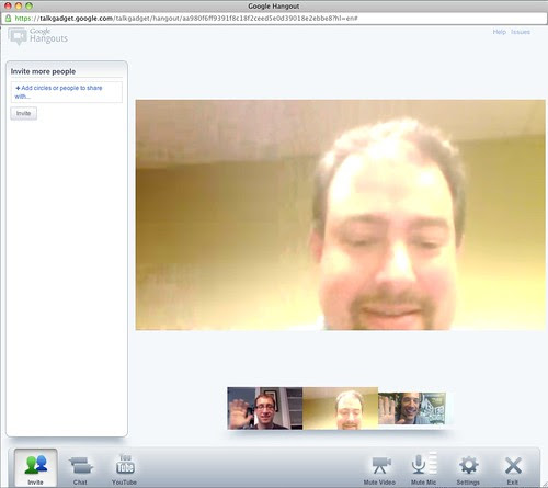 Google Hangout Video Chat