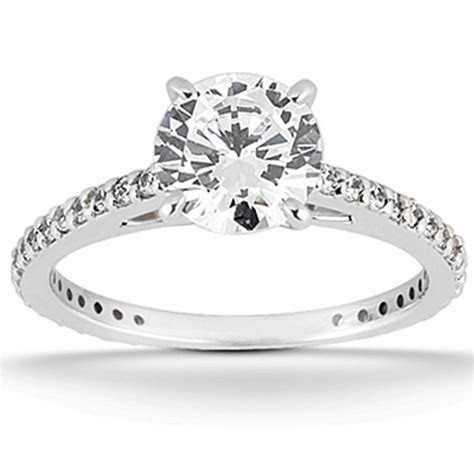 2.00Ct Round Cut Diamond Engagement Ring Wedding Band Set