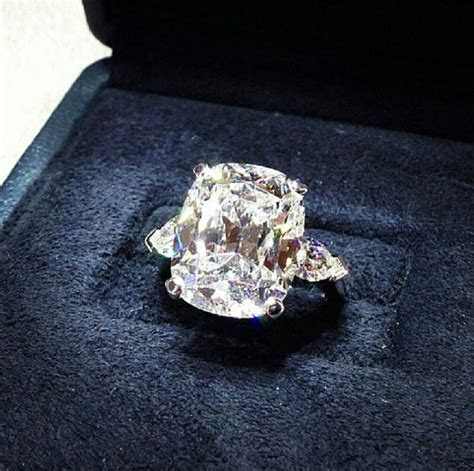 Graff diamond ring. Heaven help me! (Identical to the one