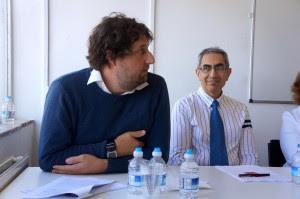 Lloyd Evans and Masoud Banisadar