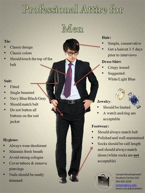 professional interview attire  men interview dress