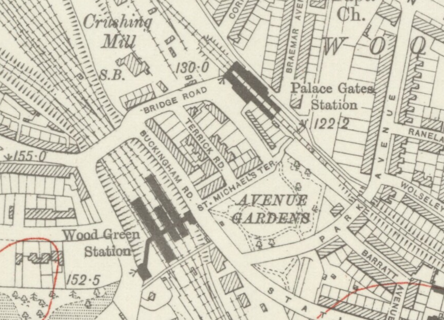 Palace Gates Railway Station Wikipedia