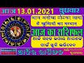 Aaj Ka Rashifal |13 January 2021 |Today Horoscope |Aries to Pisces | Advanced A2Z Solution Pvt .ltd.