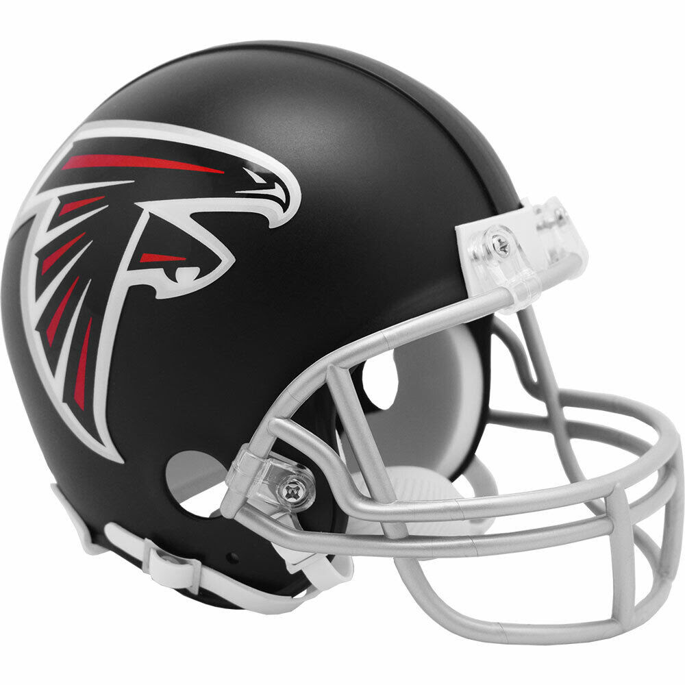 ATLANTA FALCONS MINI NFL FOOTBALL HELMET BY RIDDELL  eBay