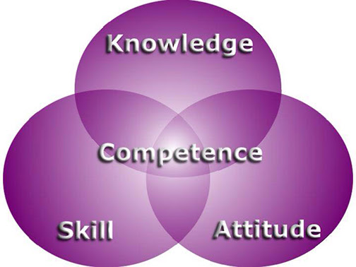 [Graphic that describes the components of competence]