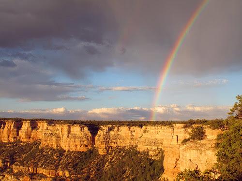 L'arcobaleno!