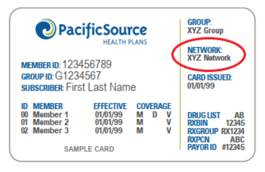 PacificSource Provider Directory