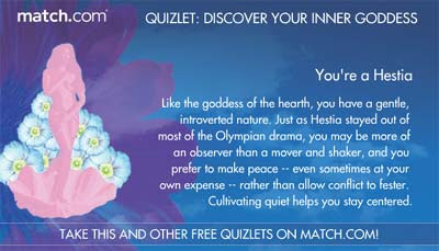 Take this and other free quizlets on Match.com!