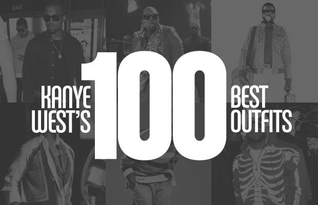 kanye west's 100 best outfits  complex