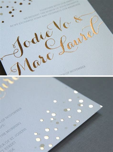 25  best ideas about Embossed wedding invitations on