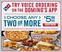 X Large Domino S Pizza Size