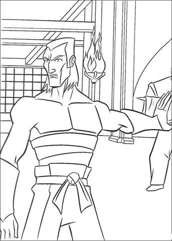 tmnt villain coloring page  supercoloring