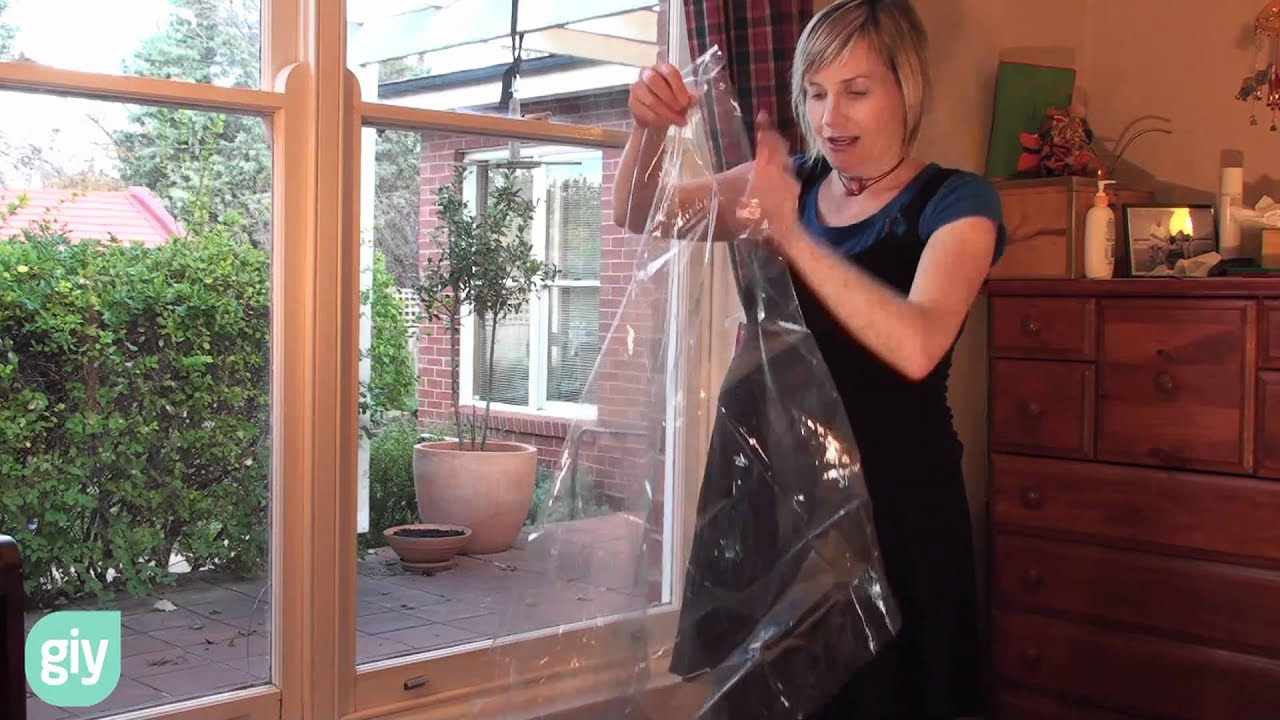 How to do simple double glazing with window insulating ...