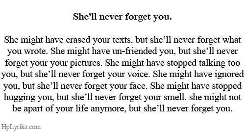 Forget Him I Miss You Missing You Miss You Texts Memory Never Forget