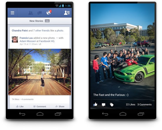 Facebook for Android 20 arrives with much faster load times, infeed photo browsing