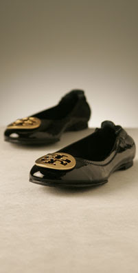 Tory Burch Shoes Nappa Leather Reva Ballet Flat