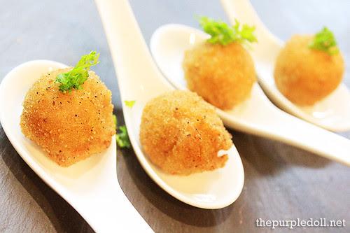 Cromesquis of Sea Urchin
