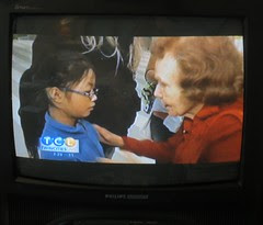 Olivia on T.V. with Marjorie Johnson