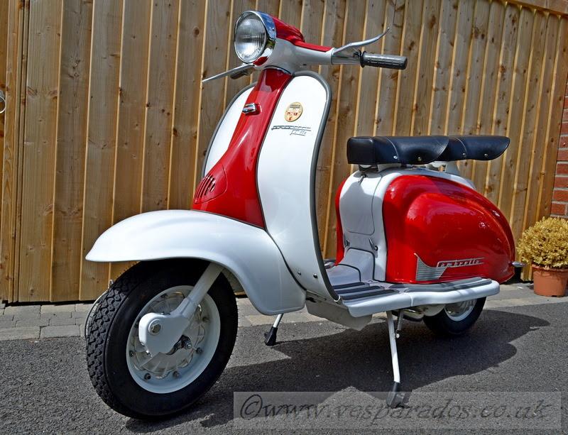 Vesparados Classic Modern Scooter Refurbishment