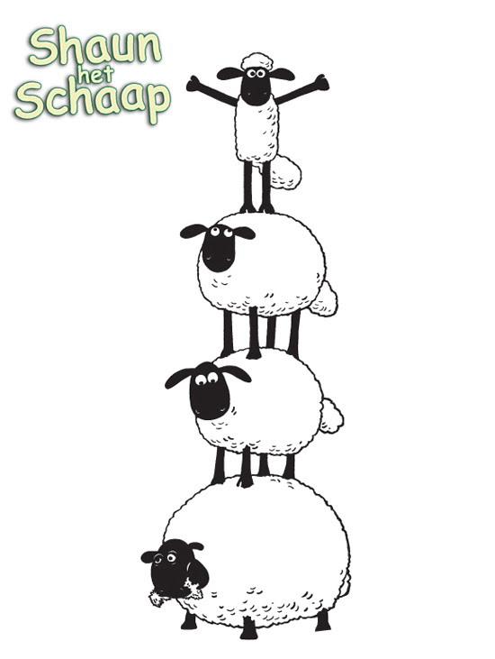 Kids-n-fun.de | Malvorlage Shaun das Schaf Shaun das Schaf