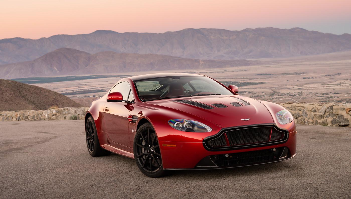 Aston Martin V12 Vantage S Robb Report