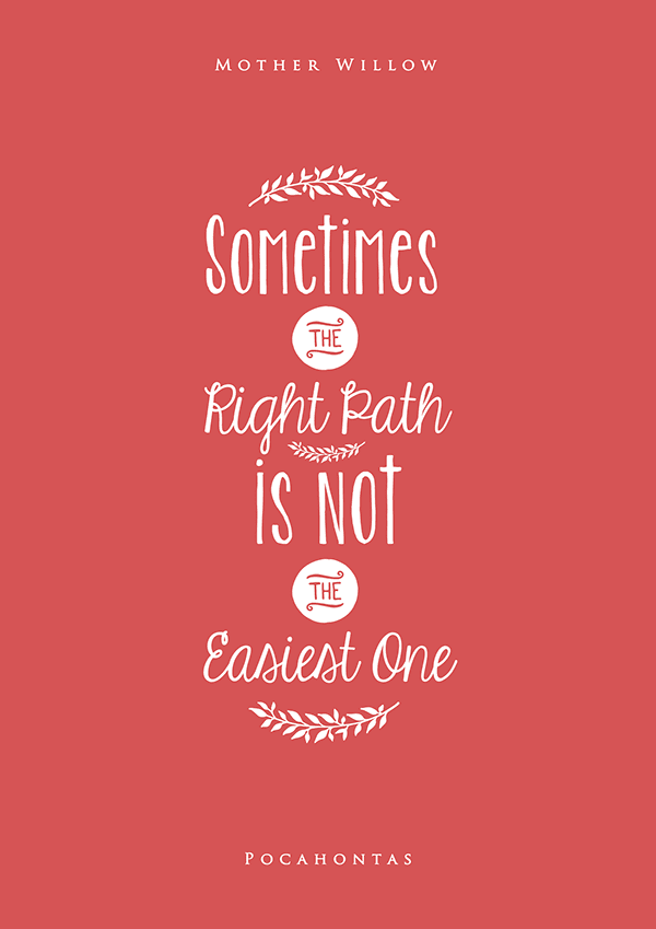 10+ Inspiring Typography Quotes from Disney Movies by ...