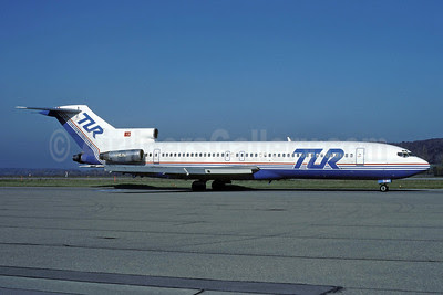 TUR European Airways (Tur Avrupa Hava Yollari) Boeing 727-230 TC-RUT (msn 20904) ZRH (Rolf Wallner). Image: 920923.