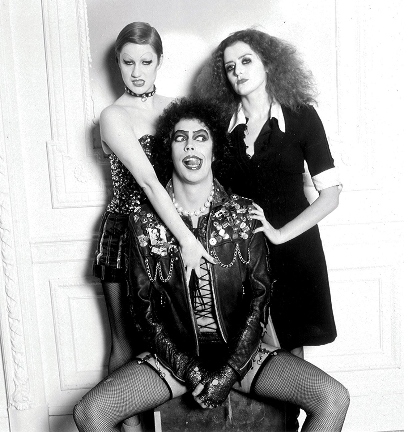 Rockymusic Rocky Horror Picture Show Still B W Photo Image