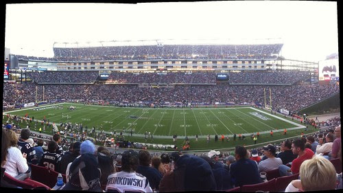 Gillette Stadium Panorama from AutoStitch by stevegarfield