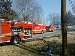 Germantown Brush Fire