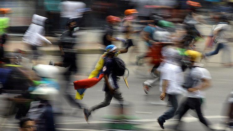 Violencia en Venezuela. Foto: Carlos Barria/ Reuters