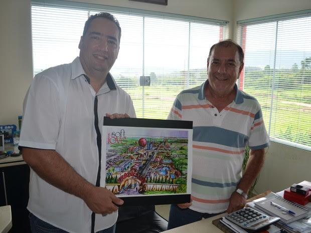 Mauro Morata (à esq,) e Paulo Meirelles são os idealizadores da Disney do Sexo (Foto: Marcello Carvalho/G1)