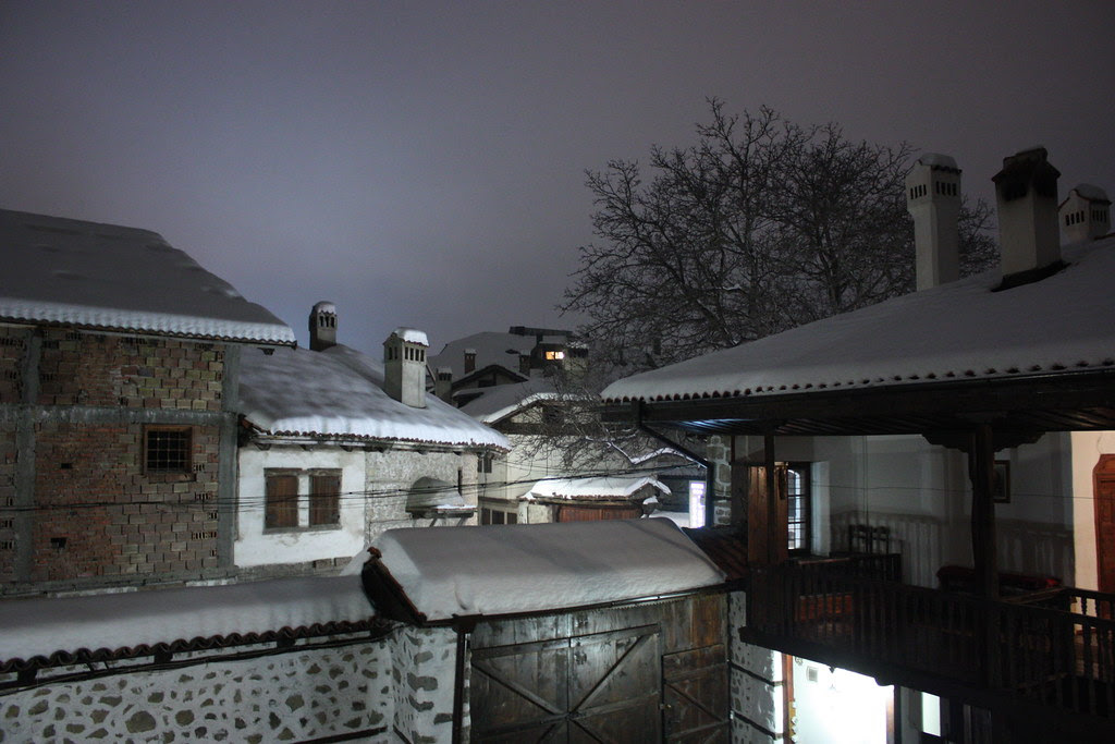Bansko, the old town