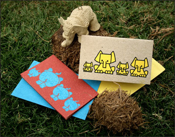 Elephant Poo Paper Cards & Gift Tags from Haathi Chaap