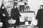 A megszentelt ételek hazaszállítása (Domaháza, Borsod-Abaúj-Zemplén m.)