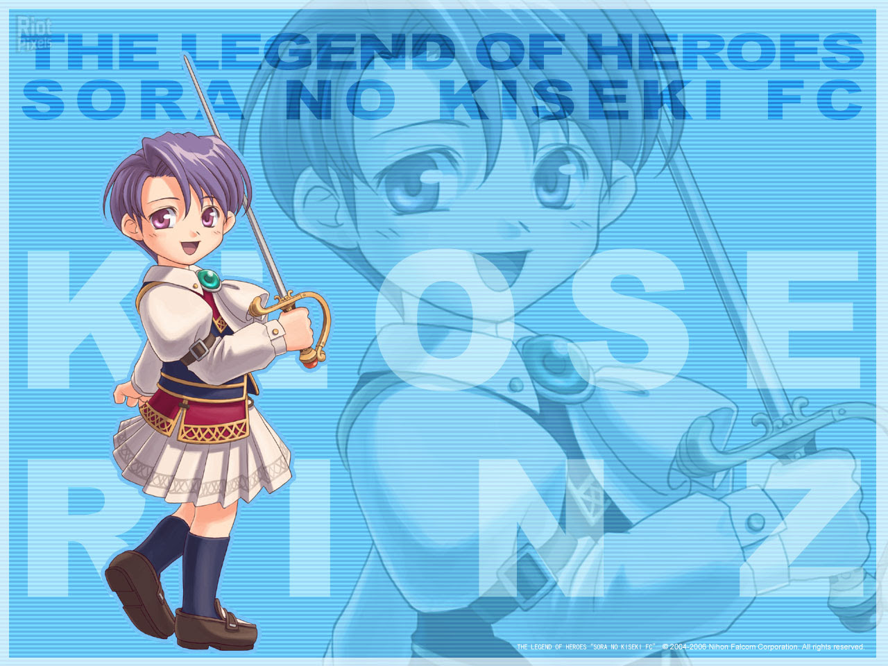 Legend Of Heroes Trails In The Sky The Game Wallpapers At Riot