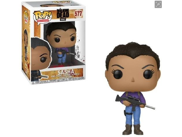 Funko Pop! TV The Walking Dead Sasha Vinyl Collectible Figure Toy for $17