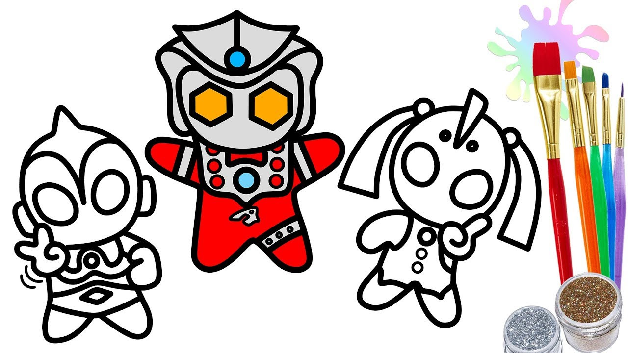 Ultraman Coloring Pages Free Download Best Ultraman Coloring Pages