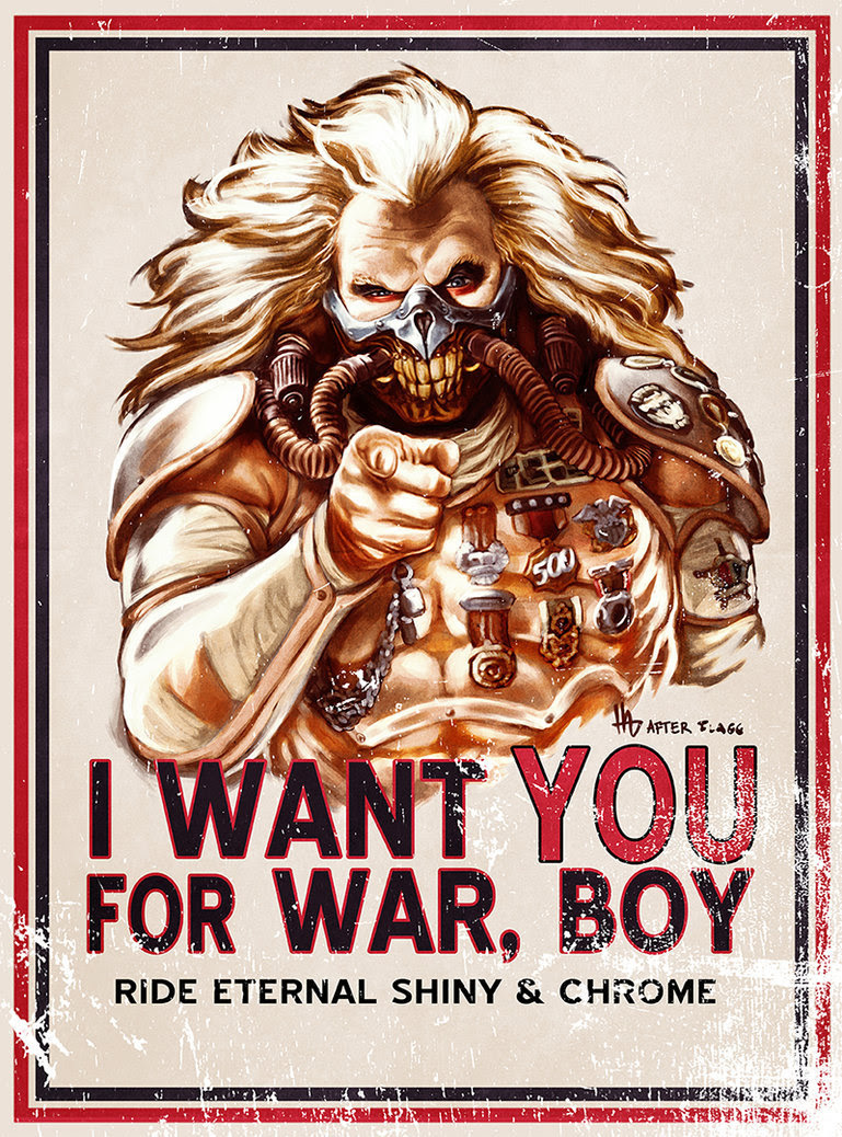 I want YOU for WAR, BOY by Hugo Dourado