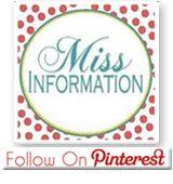 Miss Information on Pinterest