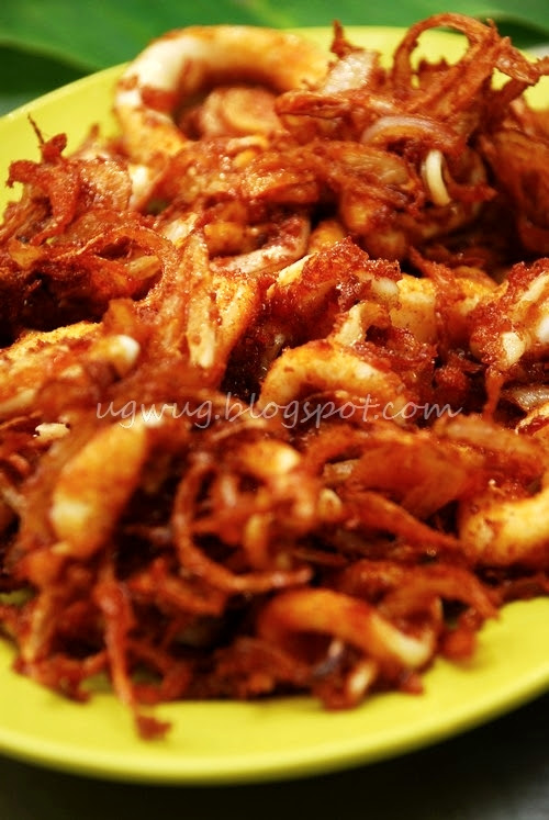 Deep Fried Sotong (Squid)