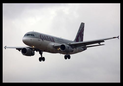 QATAR A320 A7-AHC