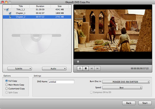 Download DVD Copy for Mac OS X Free