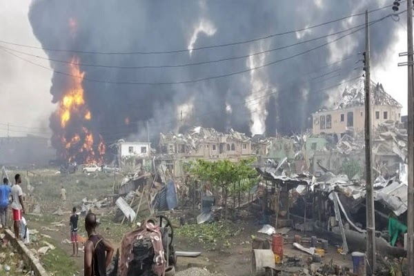 MR P REACTS TO RECENT PIPELINE EXPLOSION IN LAGOS… PROMISES TO ASSIST VICTIMS