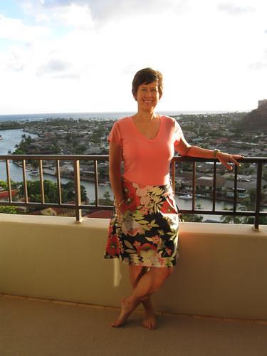 skirt on balcony