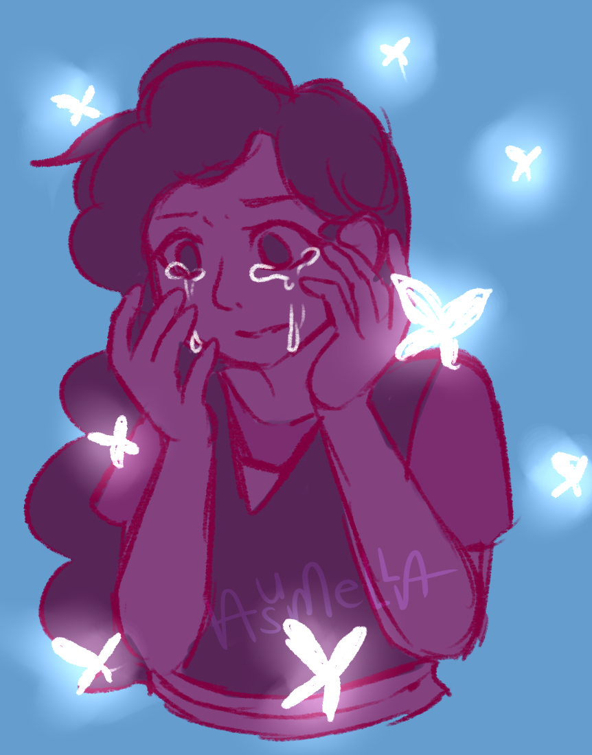 Here comes a thought30 min sketch of Stevonnie. … pretty much it